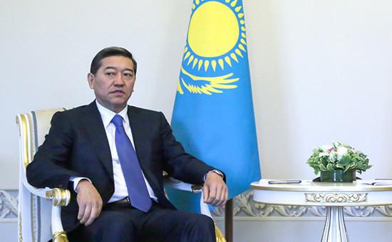 Бывший премьер-министр Казахстана Серик Ахметов