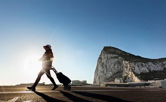Вид на скалу Гибралтар