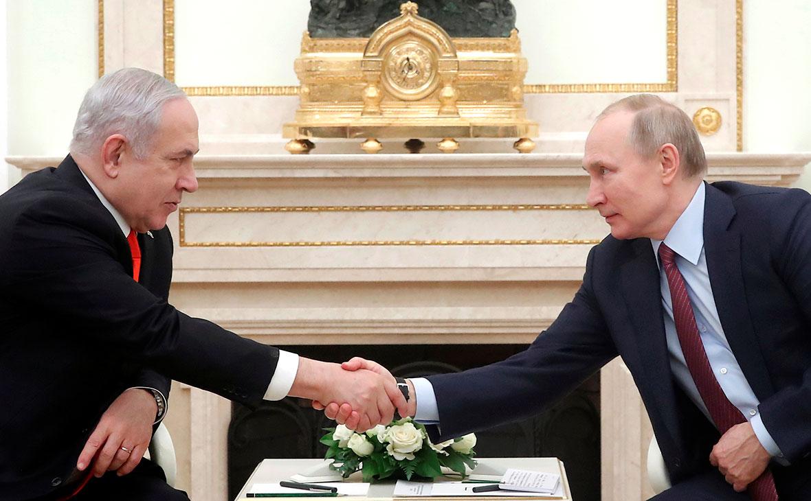 Биньямину Нетаньяху и Владимир Путин