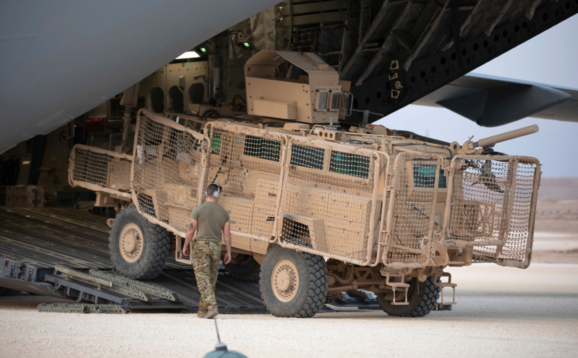 Фото: Joshua Hammock / U.S. Army Reserve / AP
