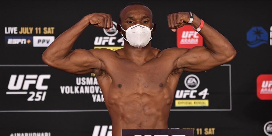Чемпион UFC в полусреднем весе Камару Усман
