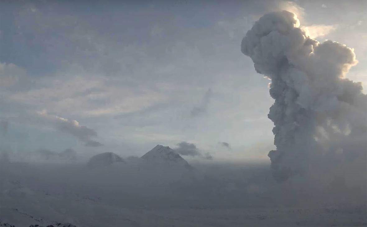 Фото:Геофизическая служба Камчатка / Youtube