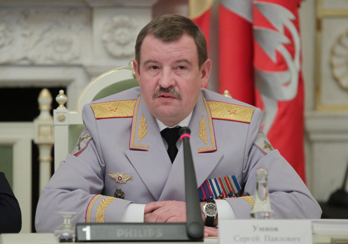 Начальник ГУВД поСПб иЛО Сергей Умнов