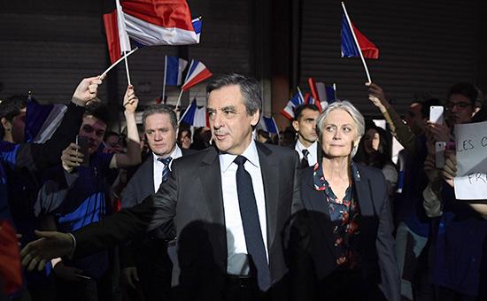 Франсуа Фийони его супруга Пенелопа Фийон