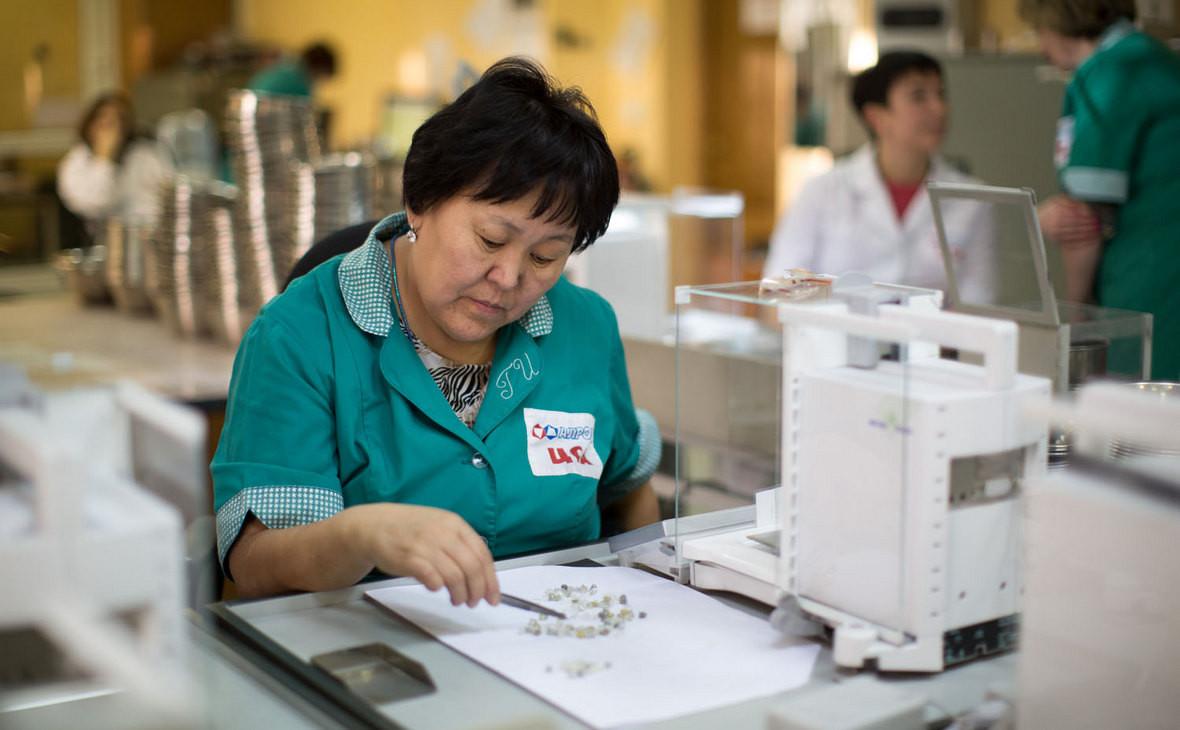 Центр сортировки алмазов АЛРОСА