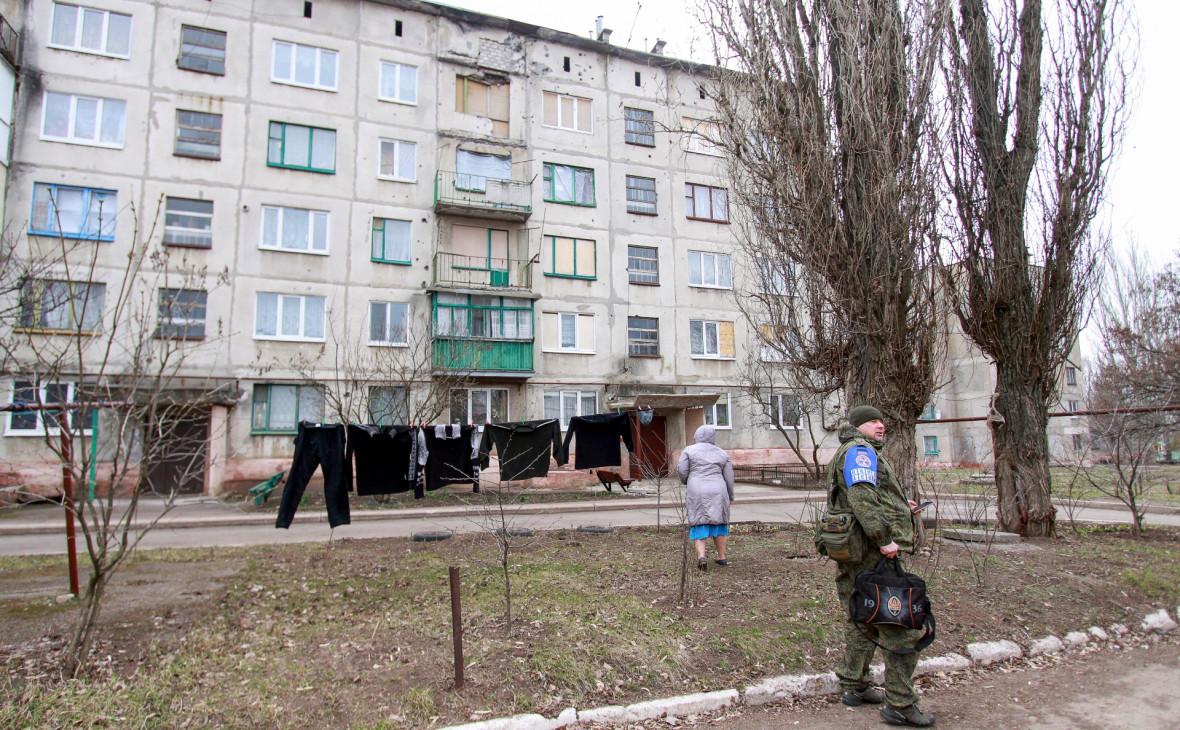 Поселок Гольмовский в ДНР