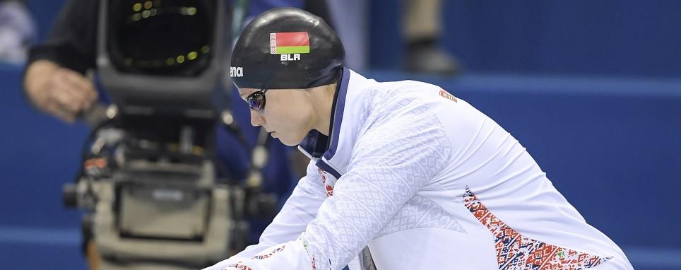 Чемпионка мира по плаванию Александра Герасименя