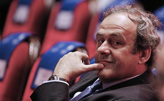 Глава УЕФА Мишель Платини