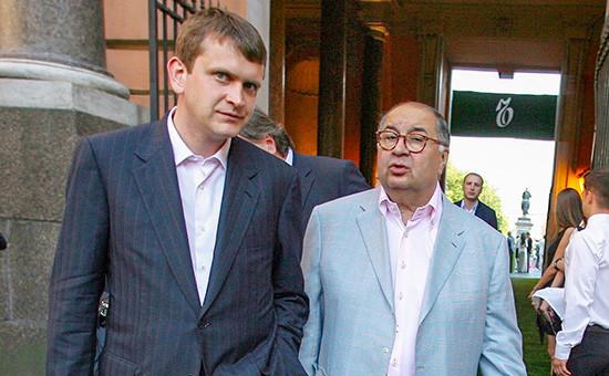Алишер Усманов и Иван Таврин. Архивное фото