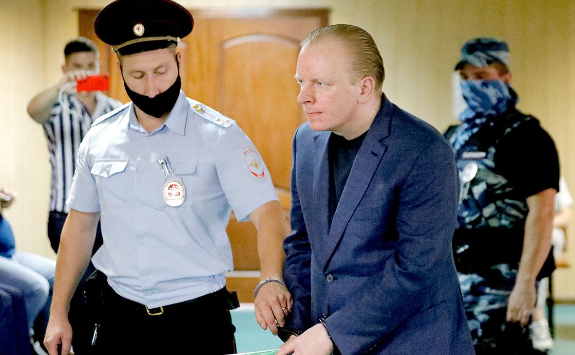 Сергей Федотов перед оглашением приговора в Пресненском суде