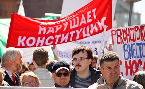 Против властей Москвы подали первый иск из-за закона о реновации