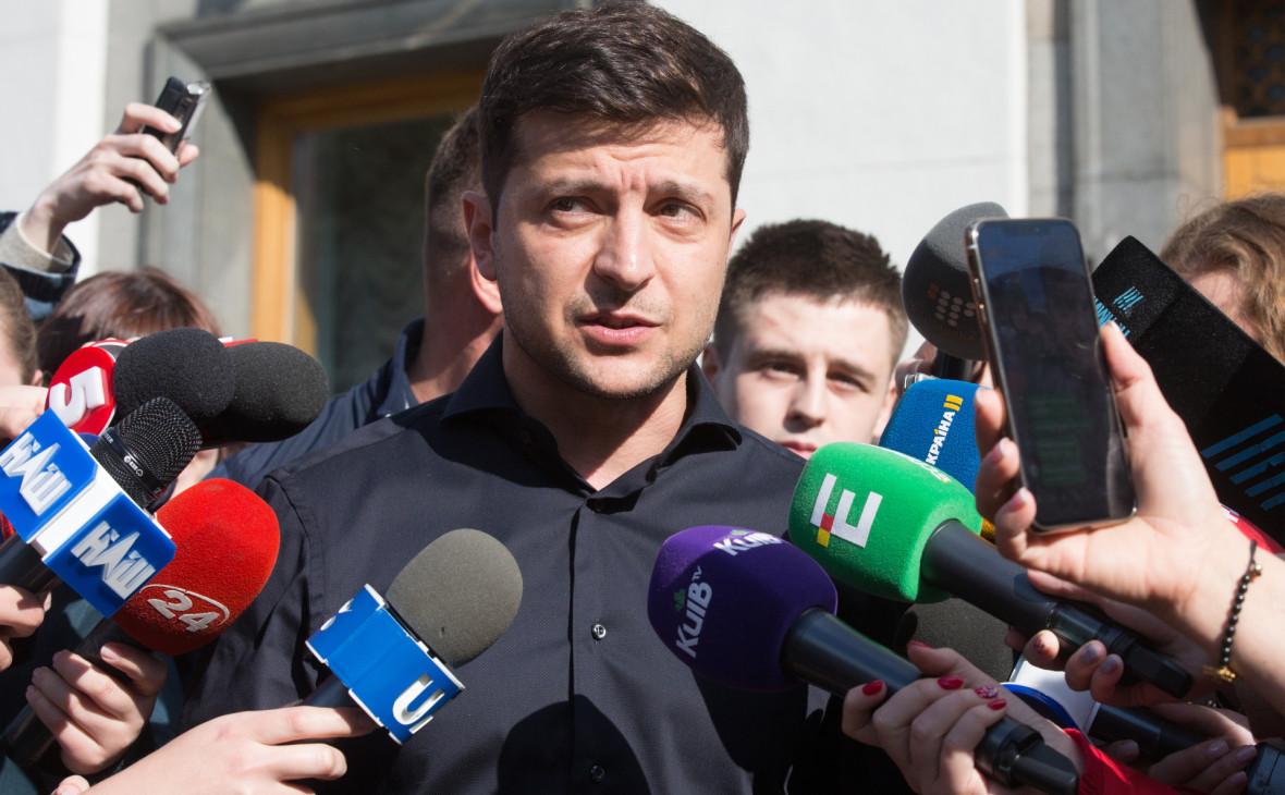 Команда Зеленского распространила видеопетицию о роспуске Верховной рады