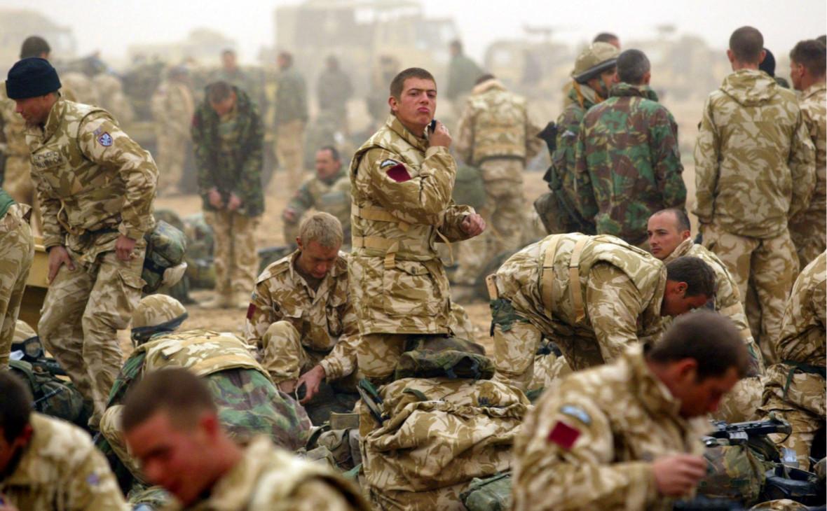 Times сообщила о cокрытии командирами преступлений британских солдат