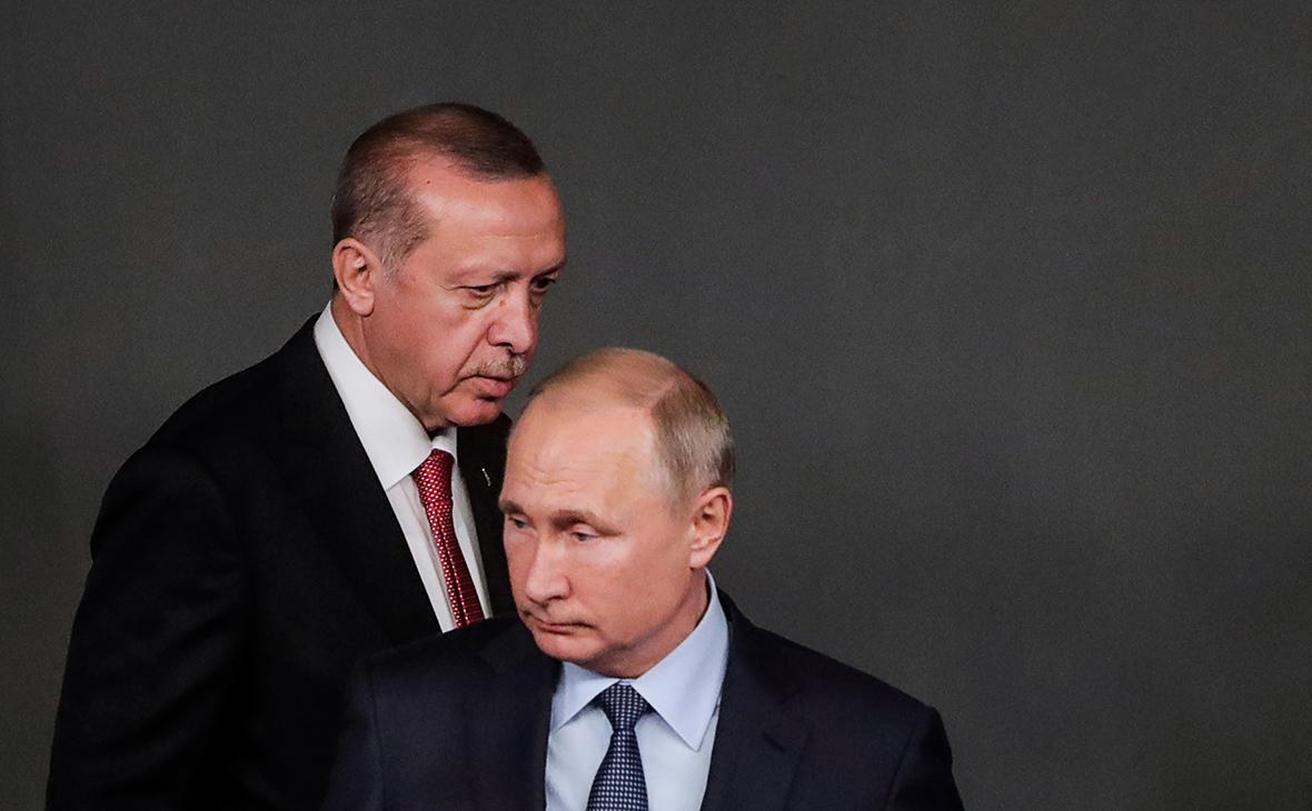 Эрдоган определится с позицией по Идлибу после разговора с Путиным