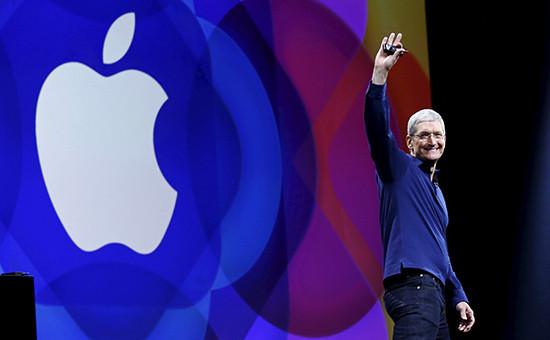 Генеральный директор корпорации Apple Тим Кук