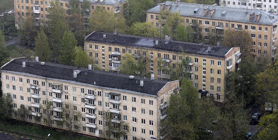 Пятиэтажные жилые дома