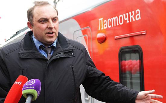 Новый начальник Московского метрополитена, железнодорожник Дмитрий Пегов