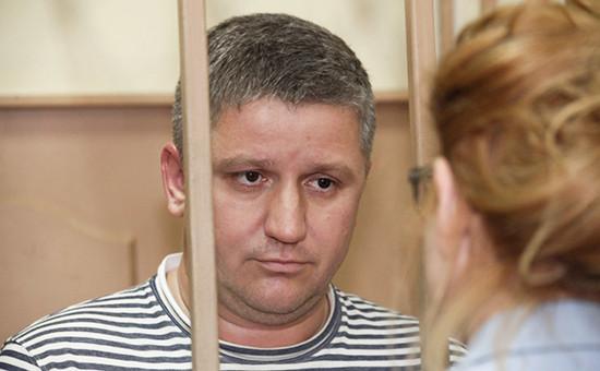Бывший глава «РусГидро» Евгений Дод вБасманном суде.23 июня 2016 года