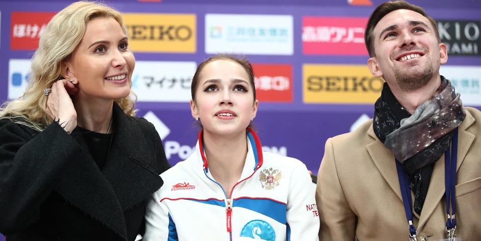 Загитова выиграла короткую программу Гран-при России с рекордом мира