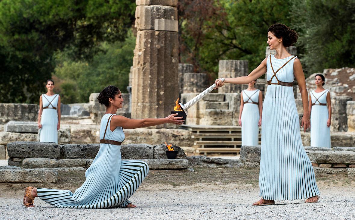 Олимпийские игры фото древние