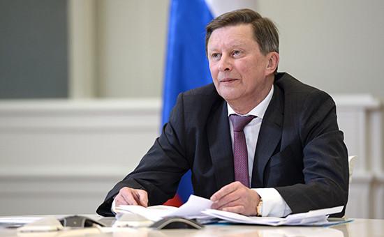 Руководитель администрации президента Сергей Иванов