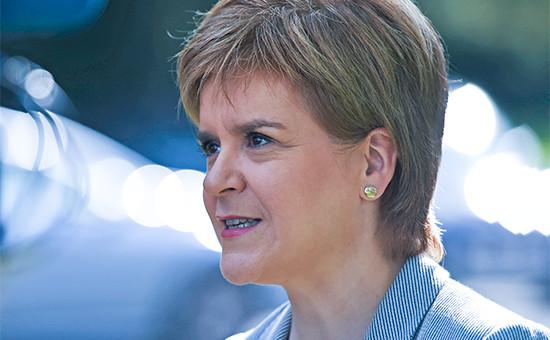 Первый министр по делам Шотландии Никола Стерджон
