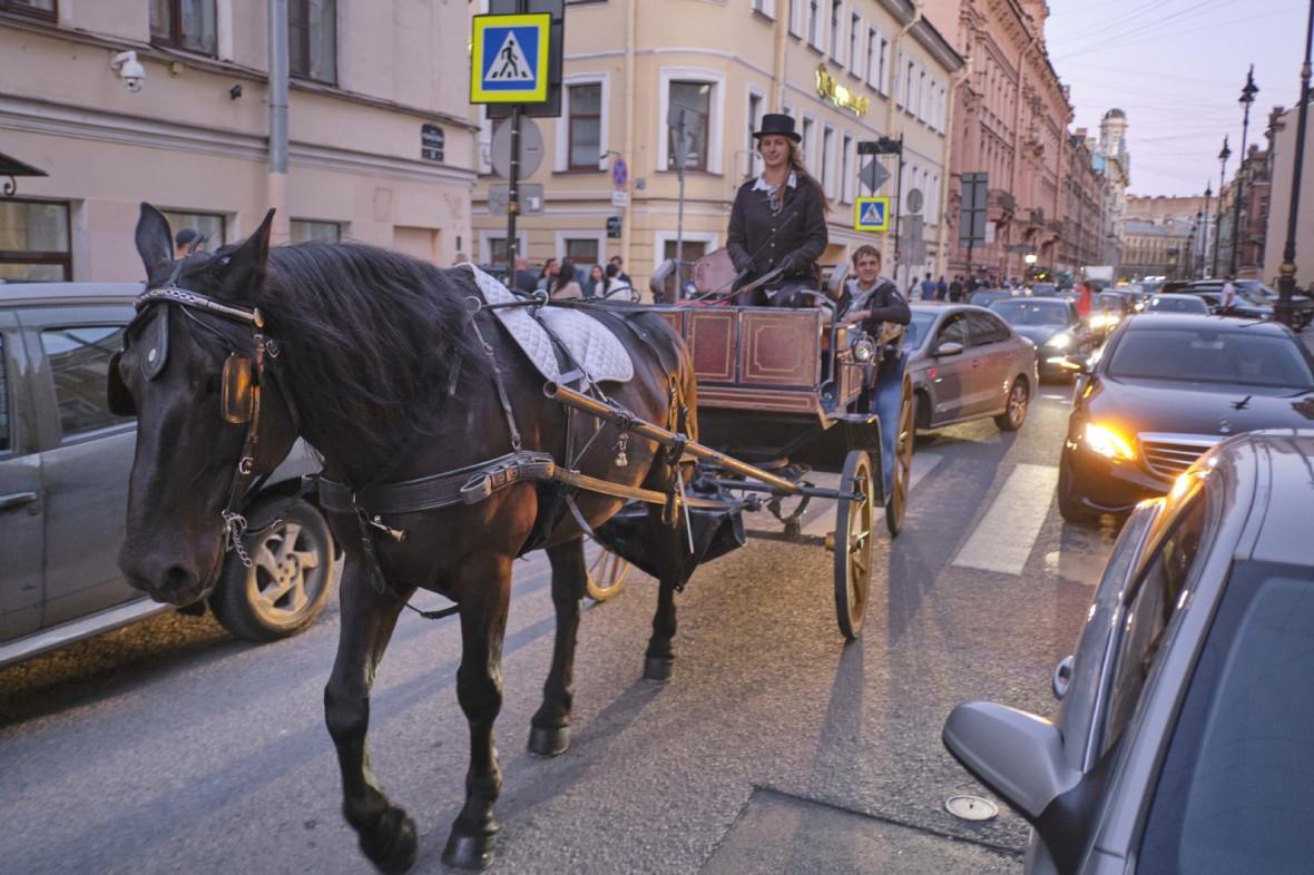 Улица Рубинштейна в Петербурге