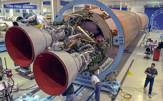 Российский ракетный двигатель РД-180