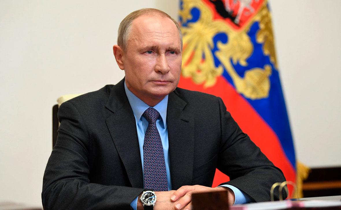 Путин выступил с обращением к народу Австрии по местному телевидению