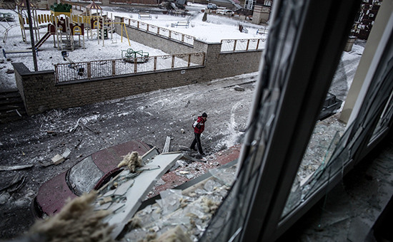 Донецк, 18 января 2015 год