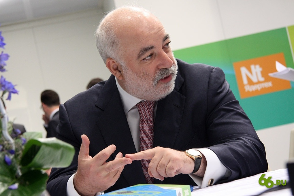 Председатель совета директоров ГК «Ренова» Виктор Вексельберг