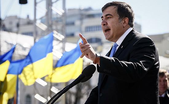 ГлаваОдесской областной администрации МихаилСаакашвили