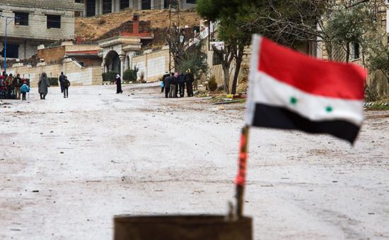 Сирия, январь 2016 года