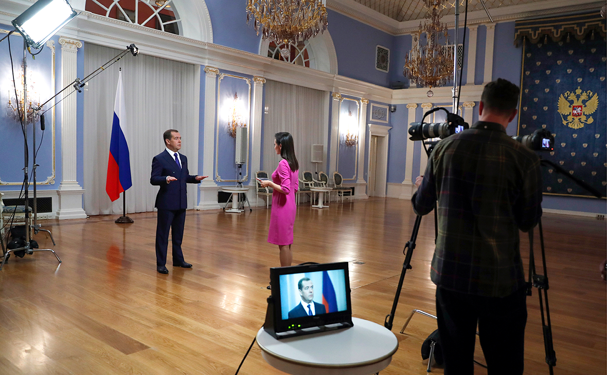 Медведев описал ситуацию в российской экономике фразой «все в порядке»