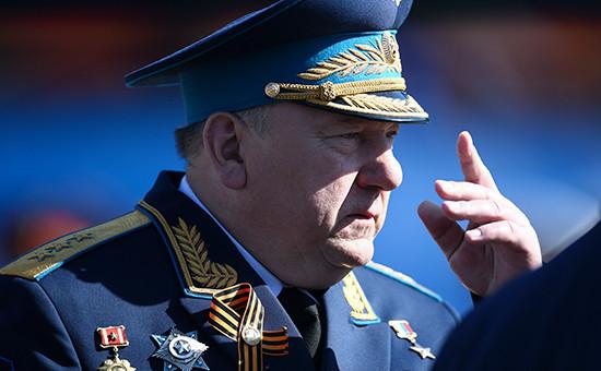 Командующий ВДВ России Владимир Шаманов