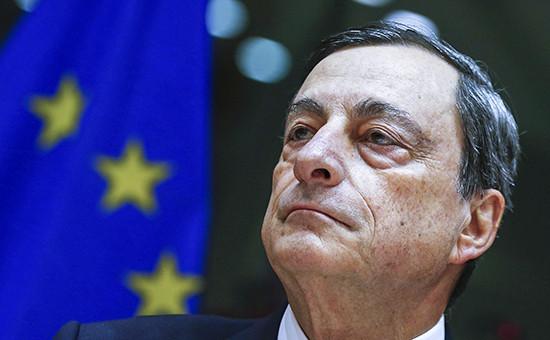 Глава Европейского центрального банка (ЕЦБ)Марио Драги