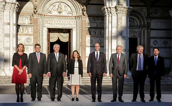 Встреча министров иностранных дел G7
