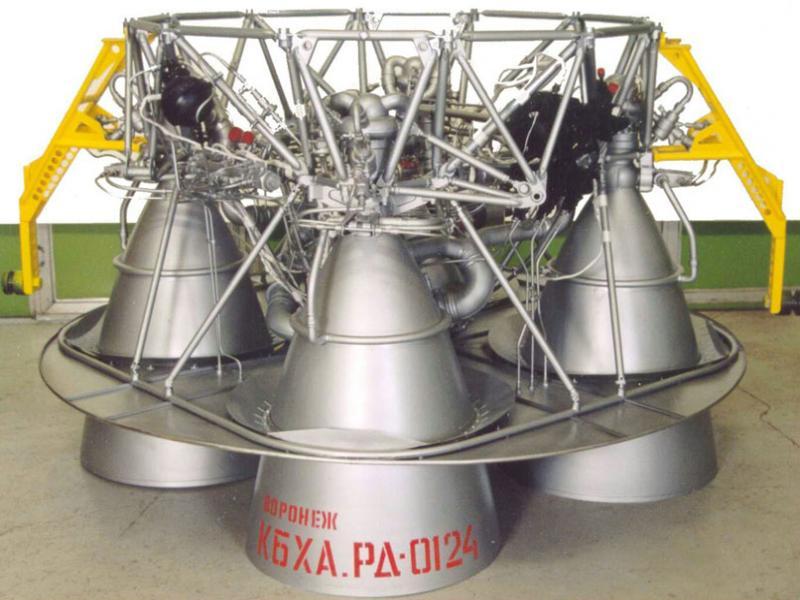 Жидкостный ракетный двигатель РД0124 (14Д23)