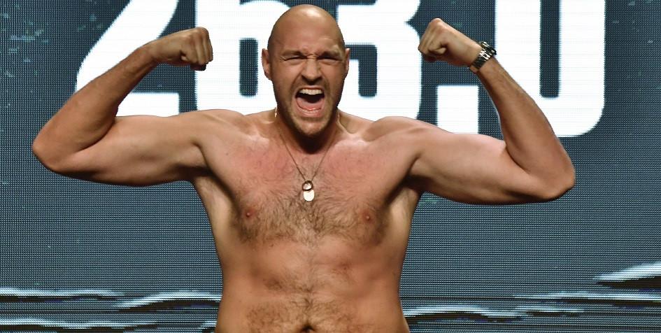 Чемпион мира по боксу по версии WBC в тяжелой весовой категории британец Тайсон Фьюри