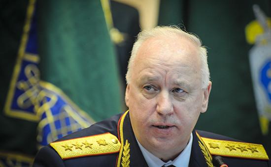 Глава Следственного комитета (СКР) Александр Бастрыкин