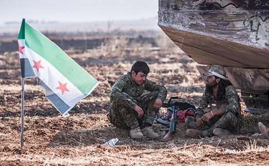 ПовстанцыСвободной сирийской армии. Архивное фото