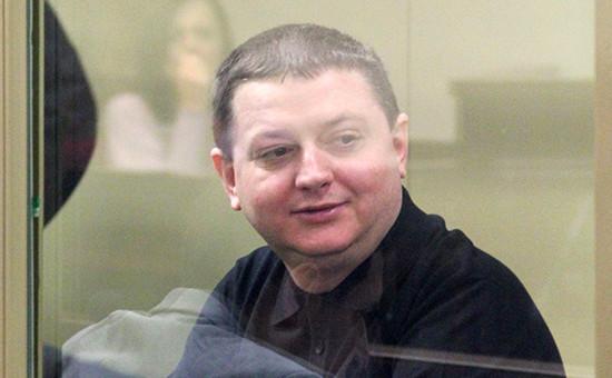 Вячеслав Цеповяз в зале заседаний Краснодарского краевого суда. Декабрь 2012 года