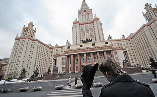 Главное здание Московского государственного университета имениМ.В. Ломоносова