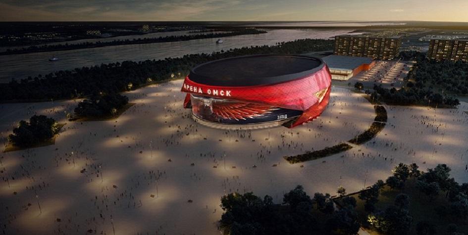 Проект нового хоккейного стадиона в Омске