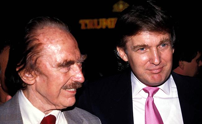 Фред и ДональдТрампы, 1989 год
