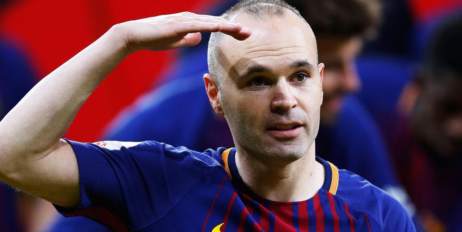 France Football извинился перед Иньестой из-за «Золотого мяча»