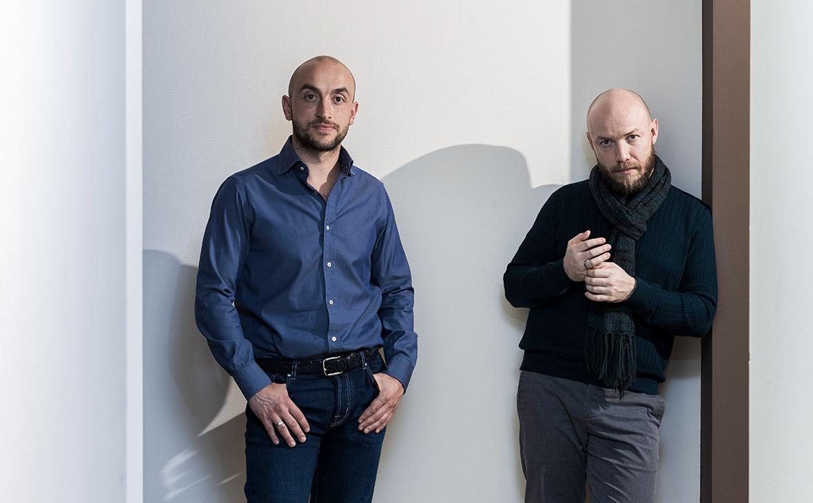 Виталий Борщенко и Григорий Пикин (слева направо)