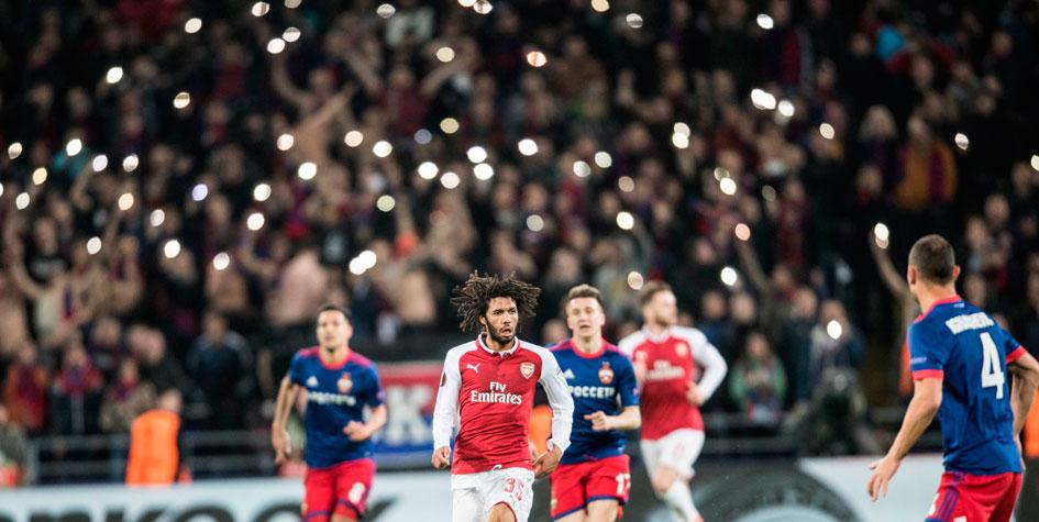 УЕФА завел дело против ЦСКА из-за поведения фанатов