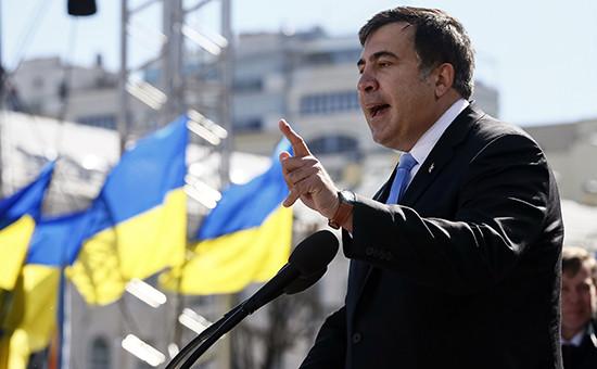 Глава Одесской областной администрации Украины Михаил Саакашвили