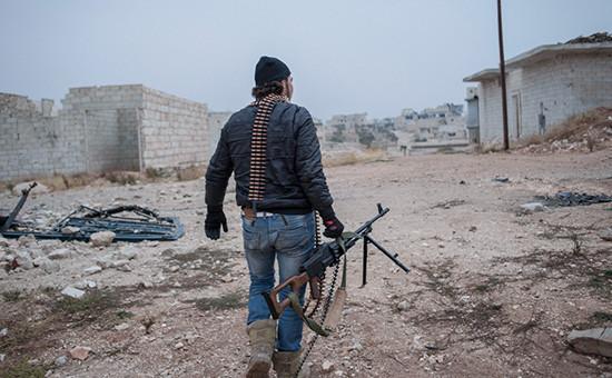 Ситуация в Алеппо, Сирия.